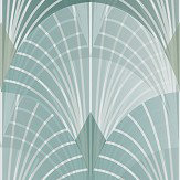 Engblad & Co Pigalle Green Wallpaper