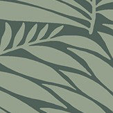 Engblad & Co Myfair Green Wallpaper