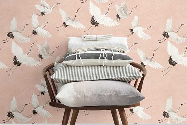 Albany Windsong Pink Wallpaper - Product code: FD24305