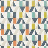 Scion Nuevo Citrus / Paprika / Forest Fabric - Product code: 120711