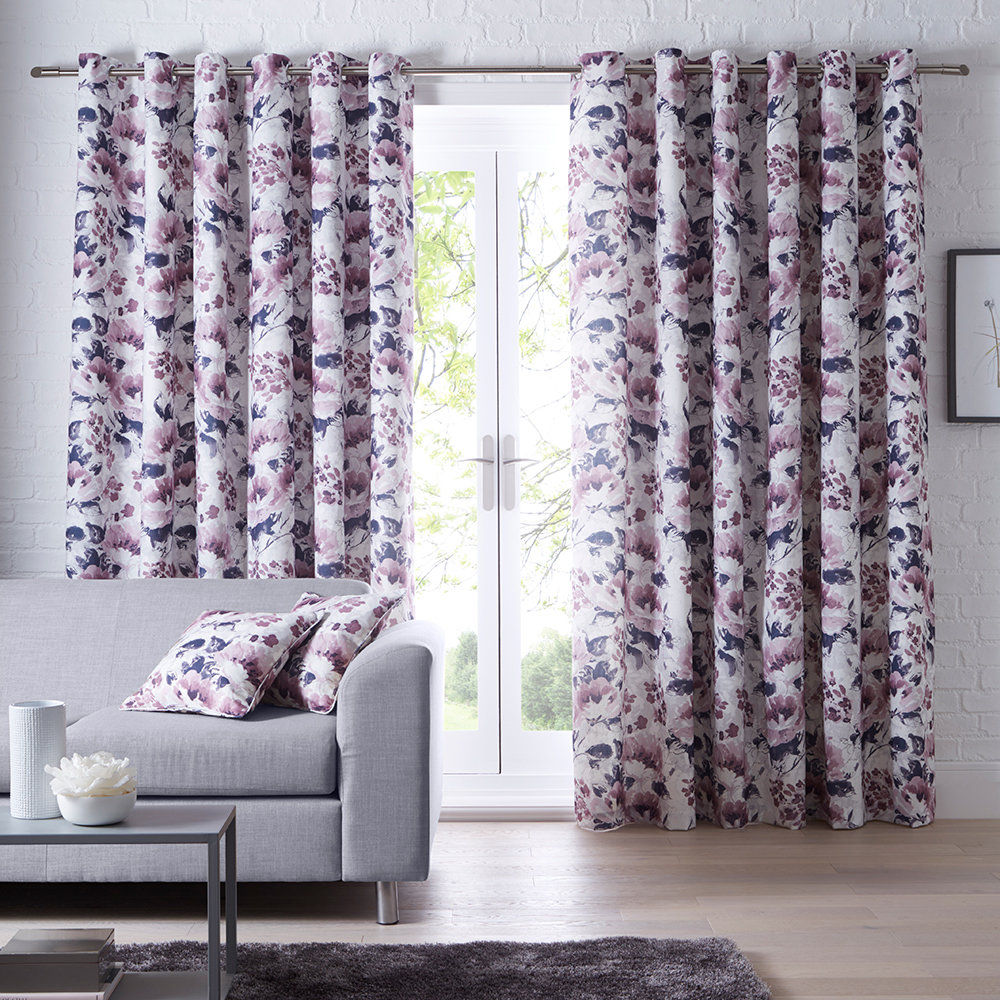 Chelsea Ready Made Curtains - Heather - by Studio G
