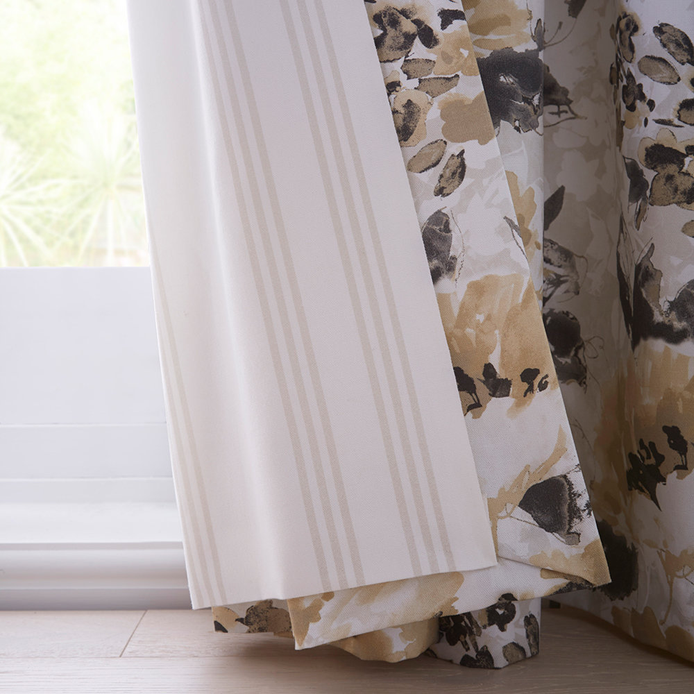 Chelsea Ready Made Curtains - Ochre - by Studio G