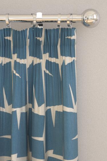 Scion Moqui Indigo Curtains - Product code: 120715
