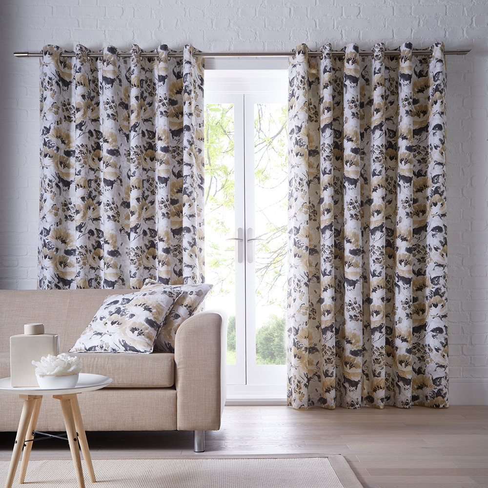 Studio G Chelsea Ochre Ready Made Curtains - Product code: DA40452075