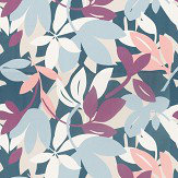 Scion Baja Grape / Blush / Indigo Fabric