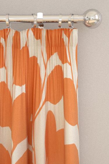 Scion Ocotillo Paprika Curtains - Product code: 120728