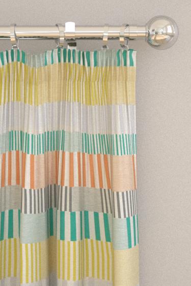 Scion Cerro Forest / Paprika / Lime Curtains - Product code: 132637