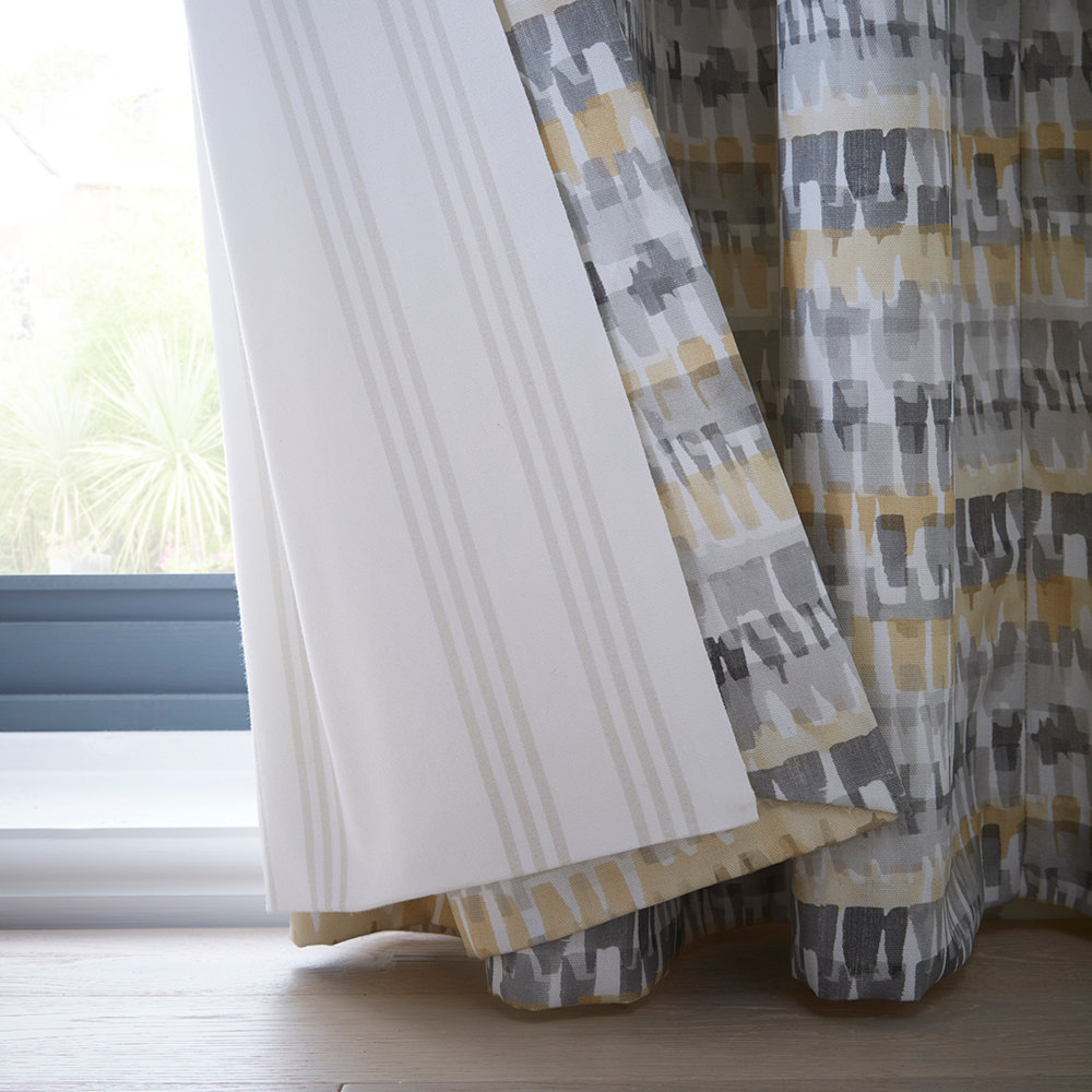 Studio G Tenby Ochre Ready Made Curtains - Product code: DA40452130