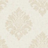 SK Filson Textured Damask Beige Wallpaper