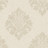 SK Filson Textured Damask Stone Wallpaper