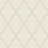SK Filson Geometric Diamond Beige Wallpaper