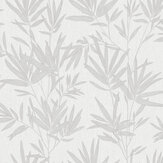 SK Filson Botanical Leaves Silver Wallpaper