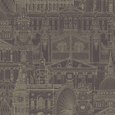 SK Filson London City Mulberry Wallpaper