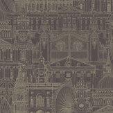 SK Filson London City Mulberry Wallpaper