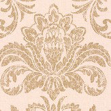Albany Glistening Damask Cream Wallpaper