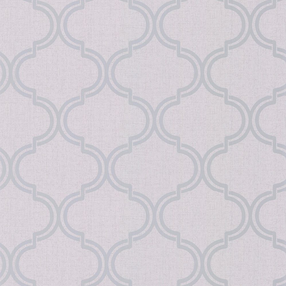 Albany Glistening Geo Grey Wallpaper - Product code: 12750