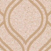 Albany Cork Trellis Gold Wallpaper