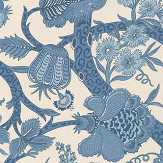 Thibaut Macbeth Aqua Fabric