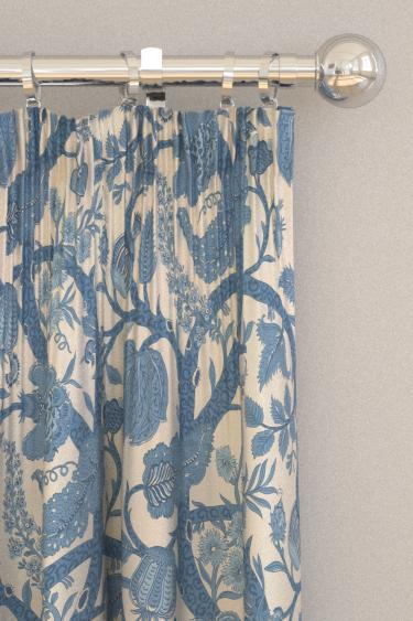 Thibaut Macbeth Aqua Curtains - Product code: F972624