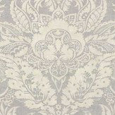 Thibaut Chardonnet Damask Grey Fabric