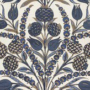 Thibaut Cornelia Navy Fabric - Product code: F972603