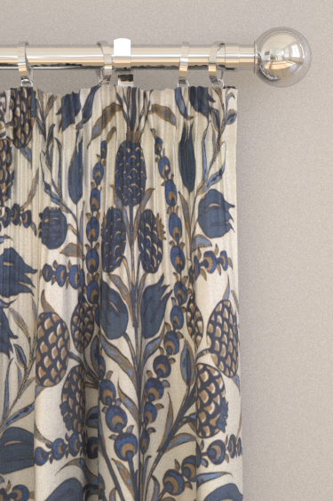 Thibaut Cornelia Navy Curtains - Product code: F972603