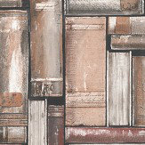 Albany Vintage Library Brown Wallpaper - Product code: 220735