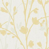 Albany Twiggy Yellow Wallpaper