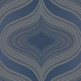 Albany Nuevo Navy Wallpaper - Product code: A34102