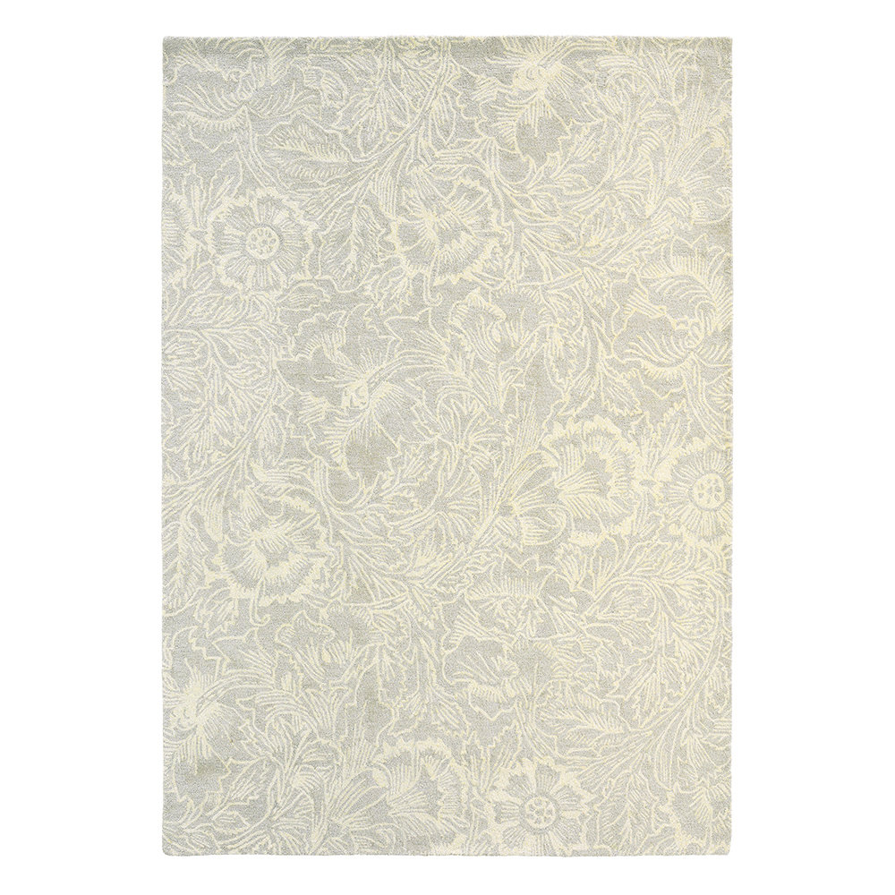 Morris Poppy Cream Rug main image