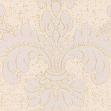 Albany Quartz Damask Gold Wallpaper