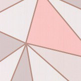 Albany Apex Geo Rose Gold Wallpaper