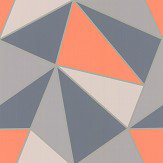 Albany Apex Geo Burnt Orange Wallpaper - Product code: FD42002