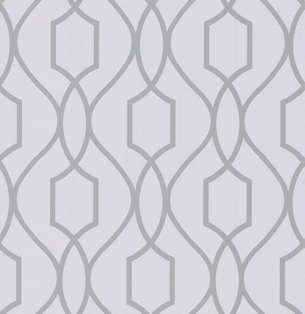 Albany Apex Trellis Silver Wallpaper - Product code: FD41995
