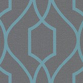 Albany Apex Trellis Charcoal Wallpaper