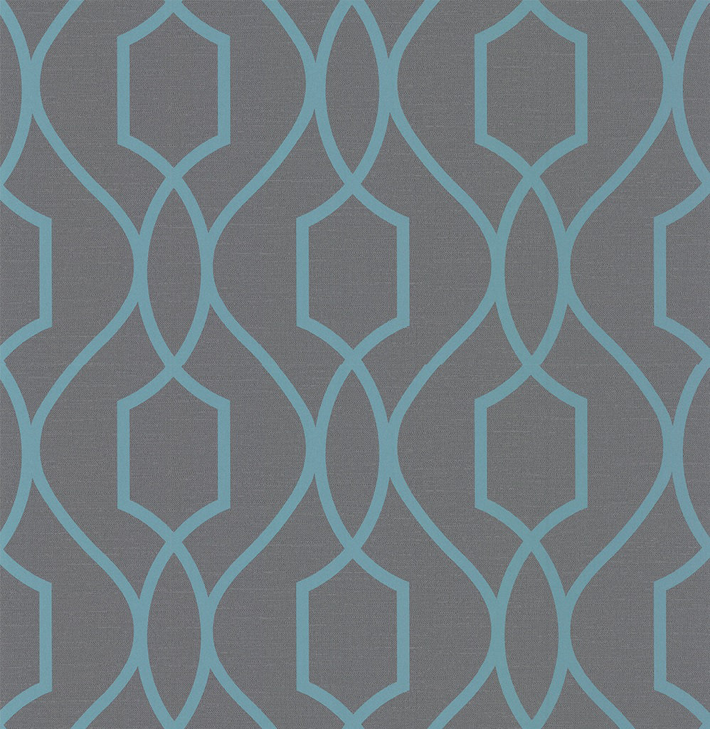 Albany Apex Trellis Charcoal Wallpaper - Product code: FD41996