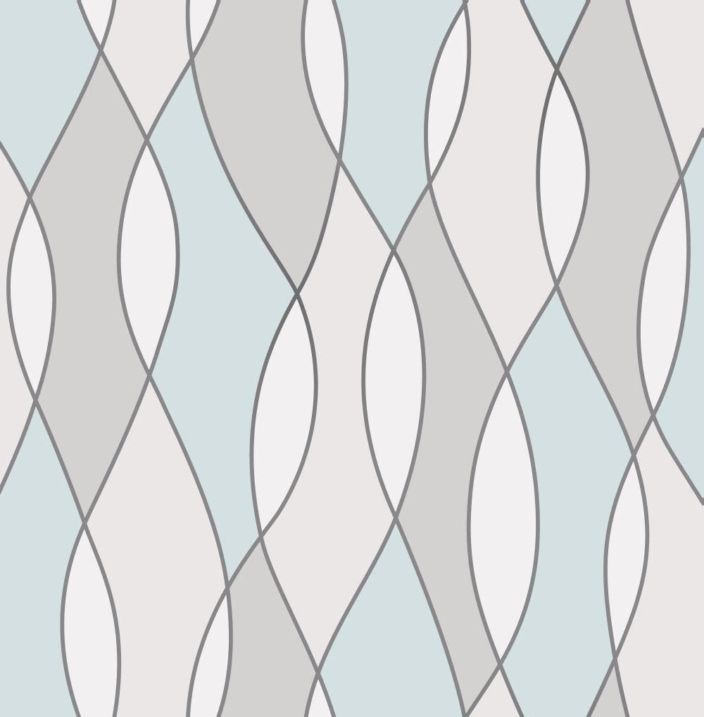 Albany Apex Wave Blue and Grey Wallpaper - Product code: FD42171