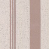 Albany Quartz Stripe Rose Gold Wallpaper
