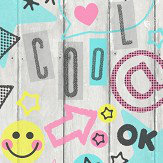 Albany Kidz Social Media Multi Wallpaper - Product code: FD42216