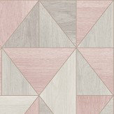 Albany Apex Wood Grain Rose Gold Wallpaper