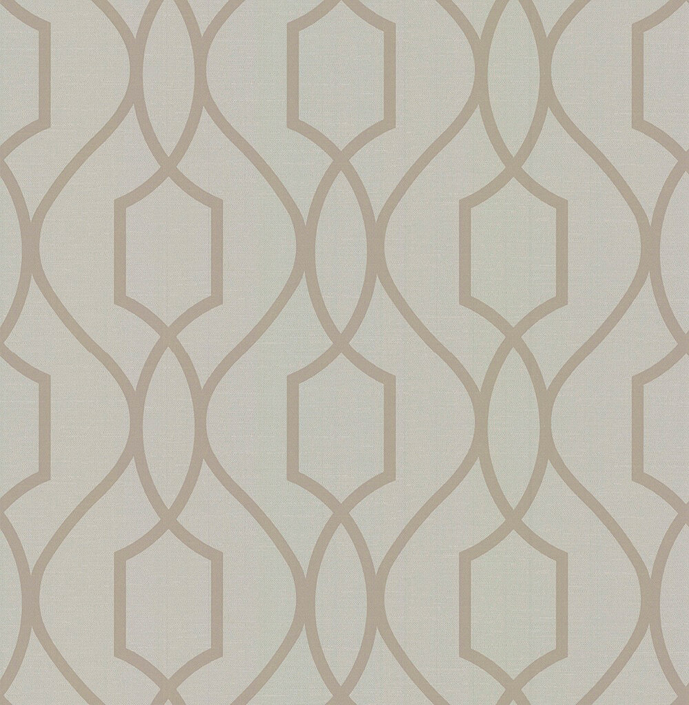 Albany Apex Trellis Greige Wallpaper - Product code: FD41997