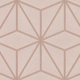 Albany Pulse Star Geo Taupe  Wallpaper