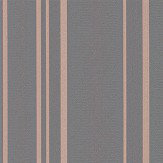 Albany Pulse Stripe Charcoal Wallpaper