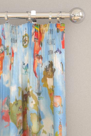 Prestigious Adventure Rainbow Curtains - Product code: 8627/546
