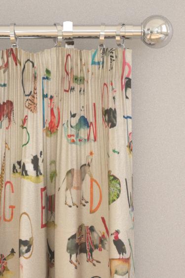 Prestigious Animal Alphabet Fudge Curtains - Product code: 8628/196