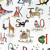Prestigious Animal Alphabet Multi-coloured Fabric
