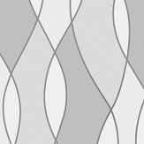 Albany Apex Wave Grey Wallpaper - Product code: FD42174