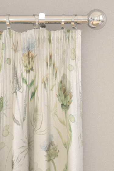 Sanderson Thistle Garden Mist and Pebble Curtains - Product code: 226421