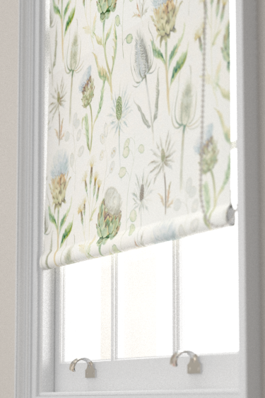 Sanderson Thistle Garden Mist and Pebble Blind - Product code: 226421