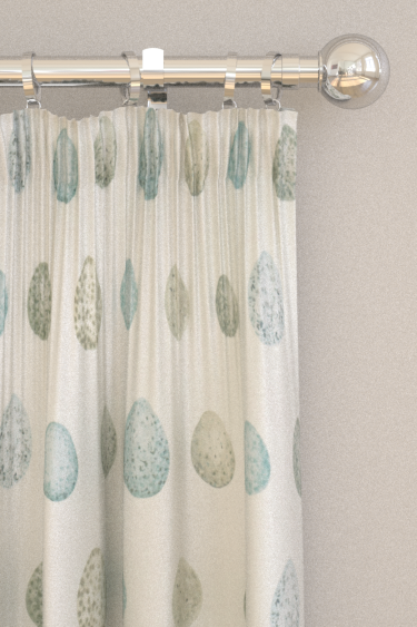 Sanderson Nest Egg Eggshell and Ivory Curtains - Product code: 226425